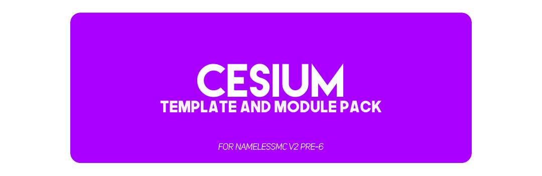 Cesium (Template/Module) [Complete Theming System] • NamelessMC